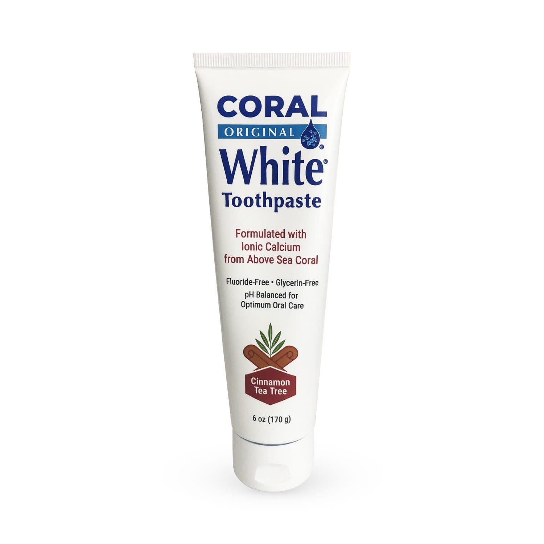 coral white tea tree toothpaste