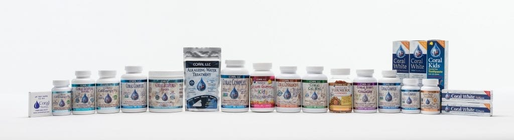 coral calcium products