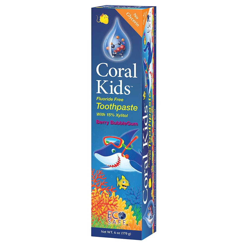 Kids Tooth Paste Coral Kids Toot...